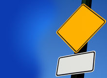 Signe de route Photo stock