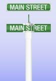 Signe de route illustration libre de droits