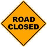 Signe de route Image libre de droits