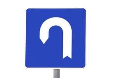 Signe de route Photos stock
