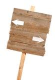 Signe de route avec des flèches photographie stock libre de droits
