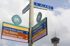 Signe de rue Images libres de droits