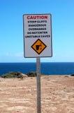 Signe de sécurité photographie stock libre de droits