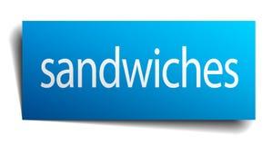 signe de sandwichs illustration libre de droits