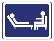 Signe de session de psychologie Image libre de droits