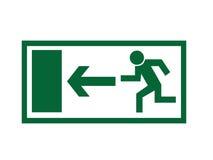 Signe de sortie de secours Image stock
