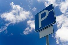 Signe de stationnement Images stock