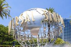 Signe de studios universels vu aux studios universels à Los Angeles Photographie stock