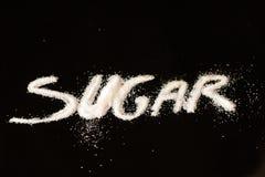 Signe de sucre Photographie stock libre de droits