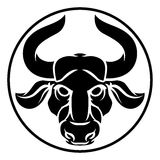 Signe de Taurus Bull Zodiac Horoscope Astrology illustration libre de droits