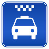 Signe de taxi illustration libre de droits
