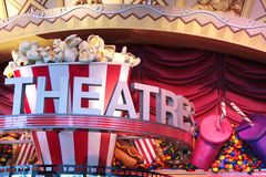 Signe de théâtre Images libres de droits
