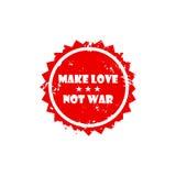 Signe de timbre de MAKE-LOVE Photo stock