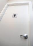 Signe de toilette de femme Image libre de droits