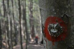 Signe de Turist Photographie stock libre de droits