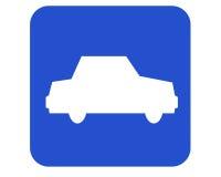 Signe de véhicule Photos libres de droits