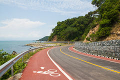 Signe de vélo Photographie stock