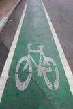 Signe de vélo Photos stock