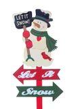Signe de vacances de Noël Photos libres de droits