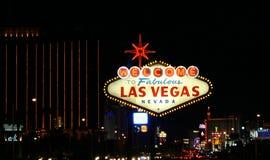 Signe de Vegas photo stock