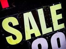 Signe de vente Image libre de droits