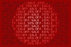 Signe de vente Photo stock