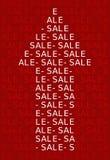 Signe de vente Image stock