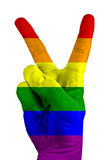 Signe de victoire illustration libre de droits
