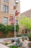 Signe de villes-soeurs de Phoenix photo stock