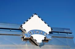 Signe de wagon-restaurant photo libre de droits