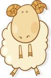 Signe de zodiaque de Bélier illustration libre de droits