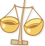 Signe de zodiaque de Balance illustration stock