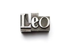 Signe de zodiaque de Lion Images libres de droits