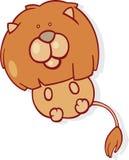 Signe de zodiaque de Lion illustration libre de droits