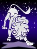 Signe de zodiaque de Lion Photo libre de droits