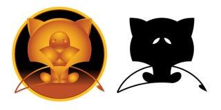 Signe de zodiaque de Lion Image stock