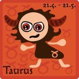 Signe de zodiaque - Taureau Image libre de droits