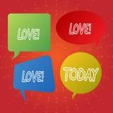 Signe des textes montrant l'amour Relations sexuelles d'attachement de Roanalysistic de photo d'affection profonde intense concep illustration de vecteur