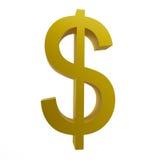 Signe du dollar Photo stock