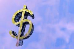 Signe du dollar illustration de vecteur