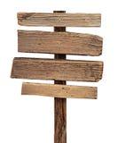 Signe en bois Photographie stock libre de droits