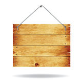 Signe en bois illustration stock