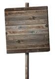 Signe en bois Image libre de droits