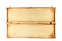 Signe en bois Photographie stock