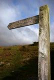 Signe en bois indiquant Wistmans Photo libre de droits