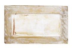 Signe en bois sale, l'espace de copie libre image stock