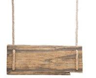 Signe en bois vide photos libres de droits