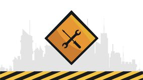 Signe en construction