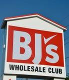 Signe en gros du club du BJ photos libres de droits