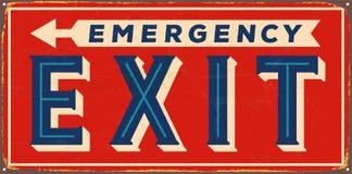 Signe en métal de vintage illustration libre de droits
